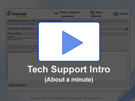 Watch the tech support video